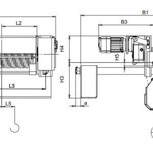 Таль электрическая канатная ЭЛМОТ CVAT - миниатюра фото 5