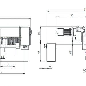 Таль электрическая канатная ЭЛМОТ CVAT - миниатюра фото 3