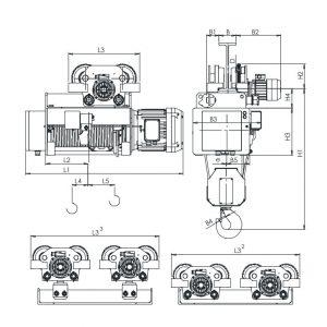 Таль электрическая канатная ЭЛМОТ HVAT - миниатюра фото 4