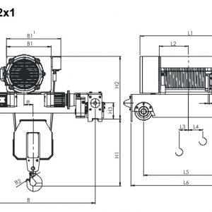 Таль электрическая канатная ЭЛМОТ KVAT - миниатюра фото 5