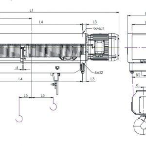 Таль электрическая канатная ЭЛМОТ VAT - миниатюра фото 5