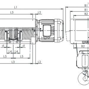 Таль электрическая канатная ЭЛМОТ VAT - миниатюра фото 4