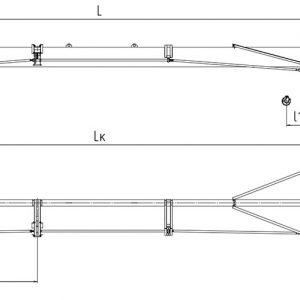 Кран мостовой однобалочный опорный ручной ЭЛЕКТРОТЯЖКРАН - миниатюра фото 3