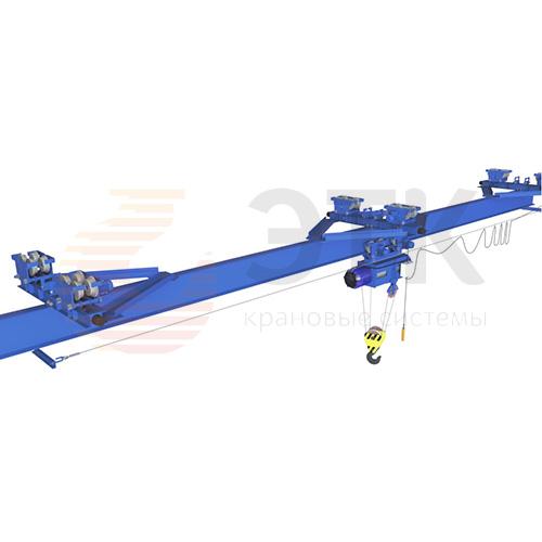 Кран мостовой подвесной двухпролетный электрический ЭЛЕКТРОТЯЖКРАН - 1