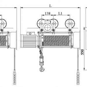 Таль электрическая канатная Алтайталь серия Т - миниатюра фото 3