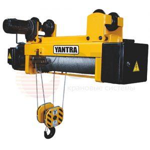Таль электрическая канатная передвижная с тележкой YANTRA - миниатюра фото 3