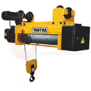 Таль электрическая канатная передвижная с тележкой YANTRA - миниатюра фото 2