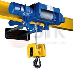 Таль электрическая канатная с уменьшенной строительной высотой PODEM MT/M - миниатюра фото 2