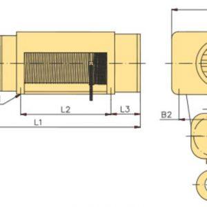 Таль электрическая канатная стационарная YANTRA - миниатюра фото 4