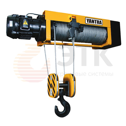Таль электрическая канатная стационарная YANTRA - 2