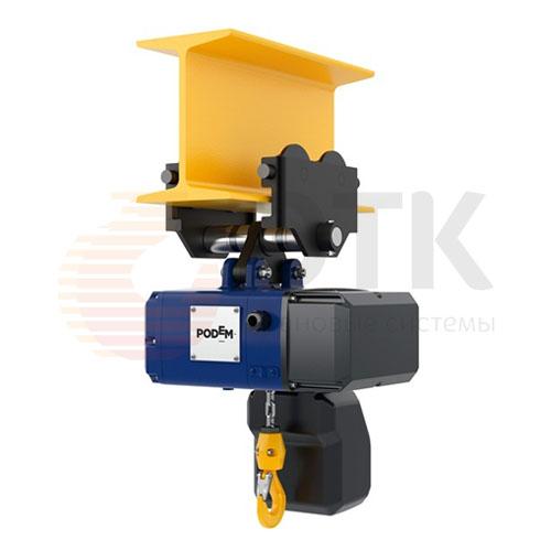 Таль электрическая цепная передвижная PODEM CLF/CLW (Подемкран) - 1