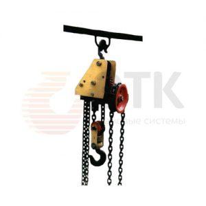 Таль ручная цепная червячная стационарная ККЗ ТРЧС - миниатюра фото 2