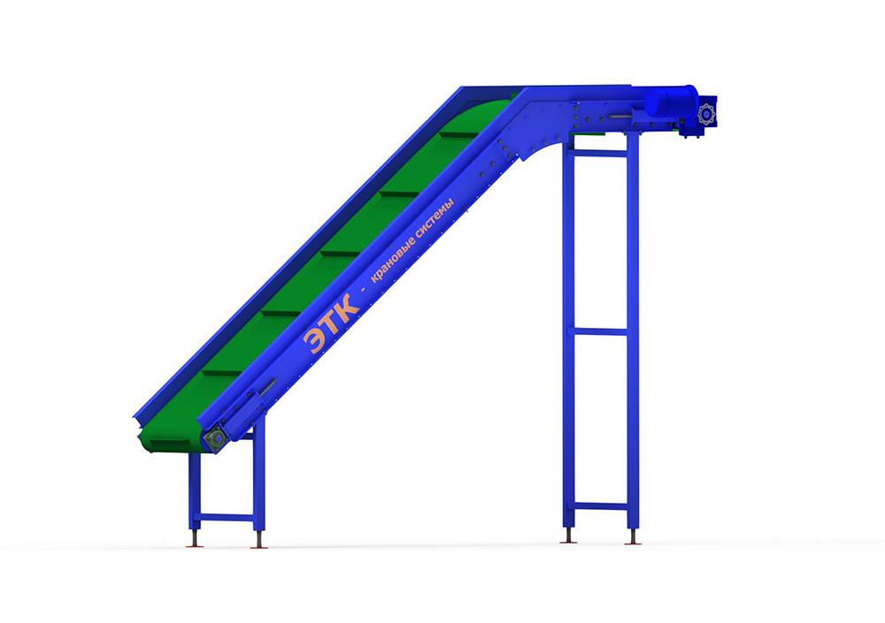 Наклонный ленточный конвейер описание стоимость ленточного транспортера