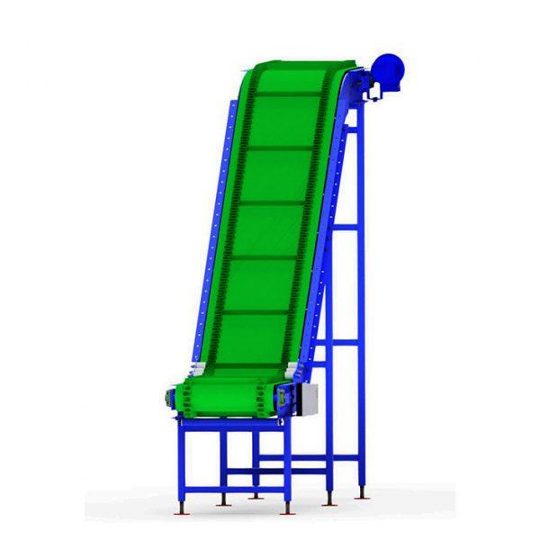 Наклонный ленточный конвейер с «Г», «L», «Z»-образным изломом - 6