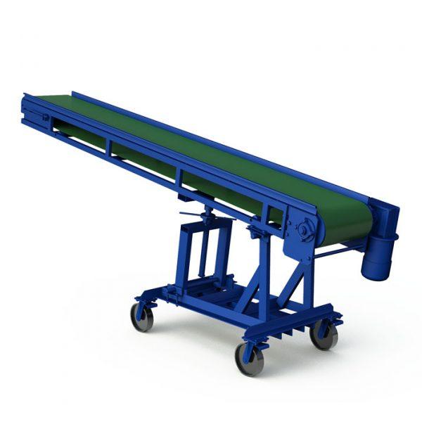 Наклонный ленточный конвейер с плавной регулировкой угла наклона - 1