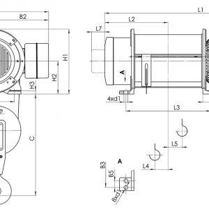 Таль электрическая канатная стационарная Балканское Эхо Т01/Т02/Т17/Т35 - миниатюра фото 3