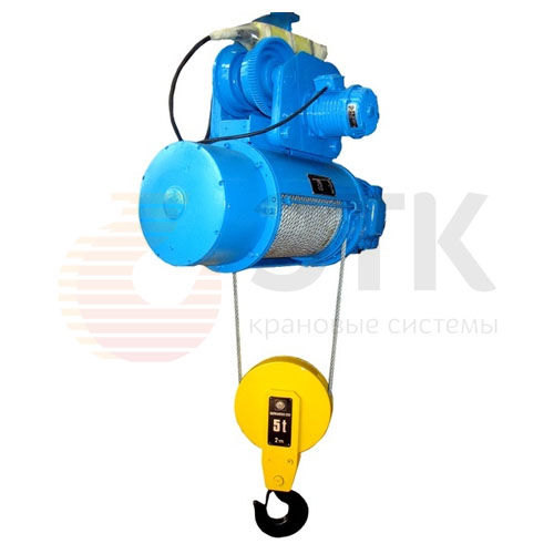 Таль электрическая канатная стационарная Балканское Эхо Т01/Т02/Т17/Т35 - 1