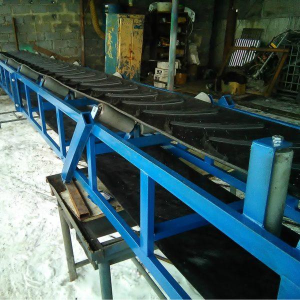 Желобчатые ленточные конвейеры - 2