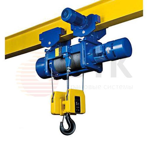 Таль электрическая канатная передвижная PODEM MT/M - 1