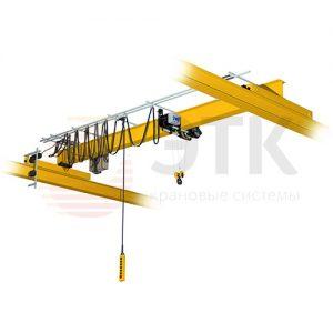 Электрические опорные однобалочные мостовые краны