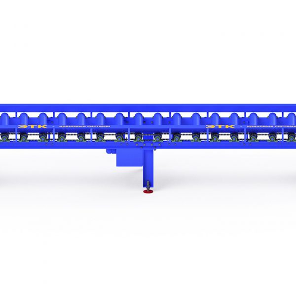 Рольганги неприводные и приводные — роликовый конвейер - 8