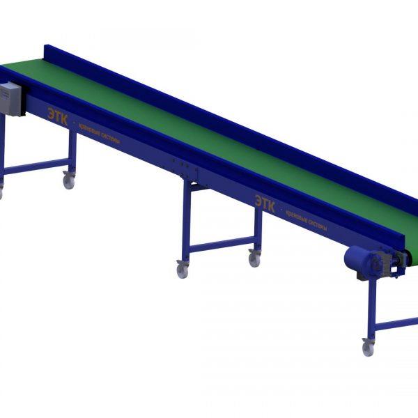 Ленточный горизонтальный конвейер для лёгких грузов - 2