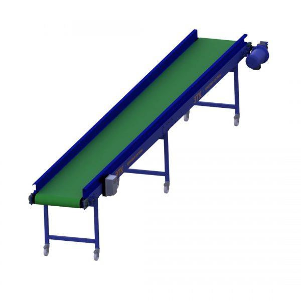 Ленточный горизонтальный конвейер для лёгких грузов - 3