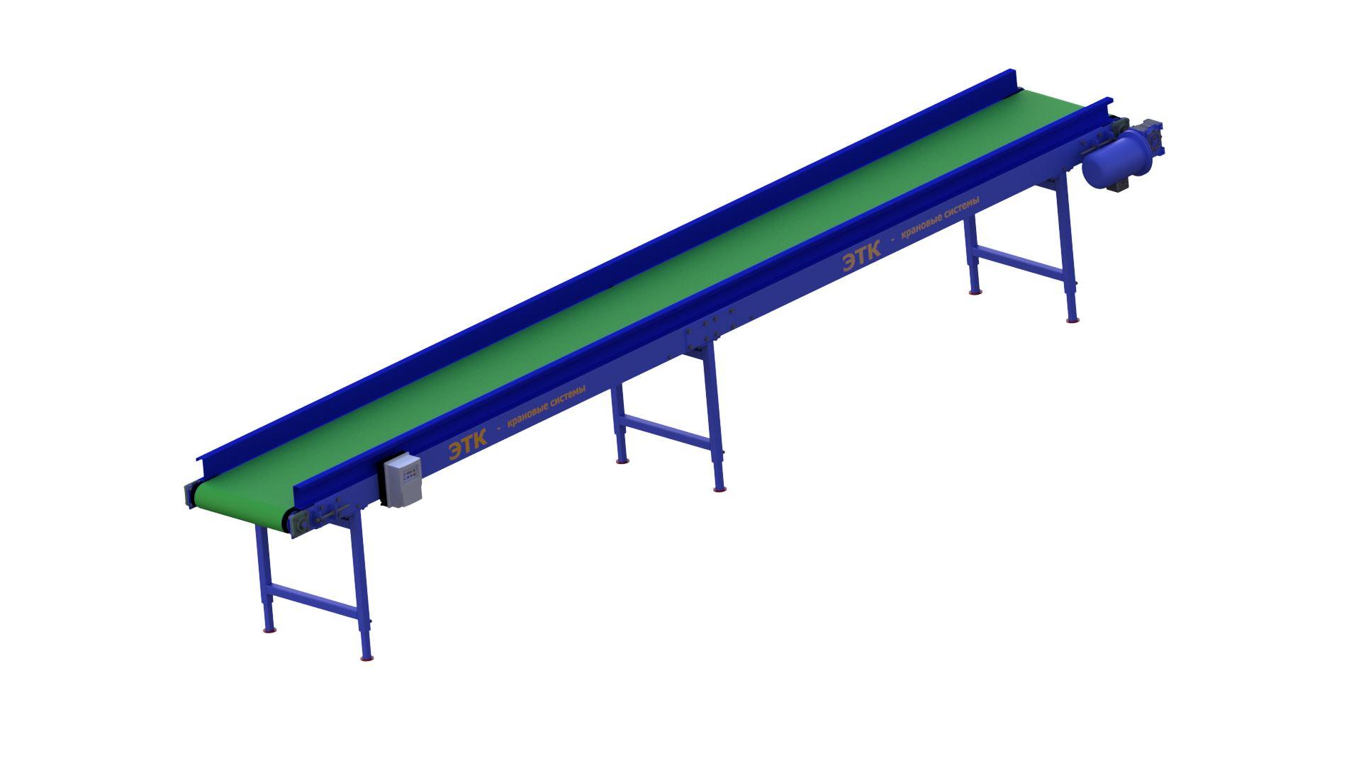 Ленточный горизонтальный конвейер оборудование для элеваторов в воронеже