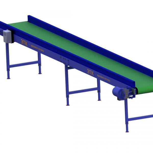 Ленточный горизонтальный конвейер для лёгких грузов - 5
