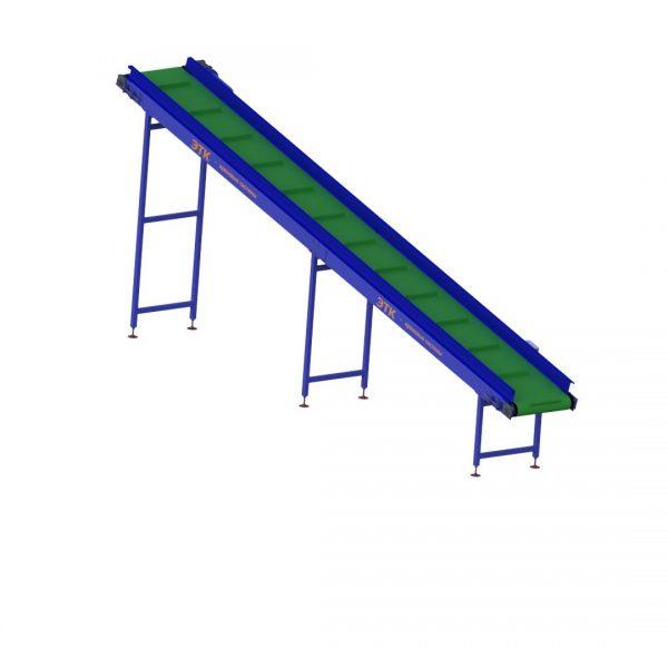 Ленточный наклонный конвейер для лёгких грузов - 2