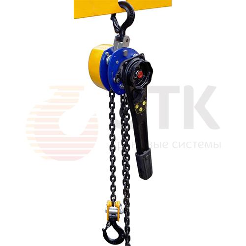 Таль ручная цепная рычажная шестеренная СВПК ТРШСРМ - 1