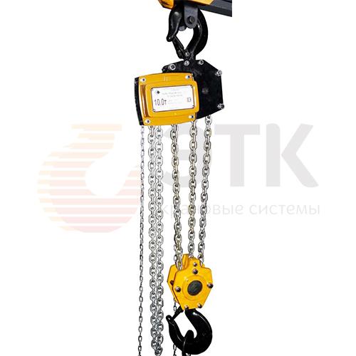 Таль ручная цепная стационарная шестеренная пожаробезопасная СВПК ТРШСп-Ex-10,0 - 1