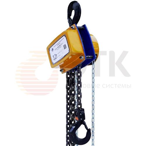 Таль ручная цепная стационарная шестеренная СВПК ТРШСМ - 1