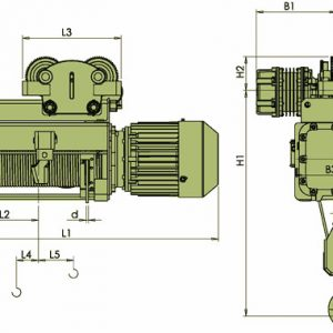 Таль электрическая канатная ЭЛМОТ VHVAT ВЗИ - миниатюра фото 4