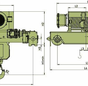 Таль электрическая канатная ЭЛМОТ VKVAT ВЗИ - миниатюра фото 6