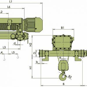 Таль электрическая канатная ЭЛМОТ VKVAT ВЗИ - миниатюра фото 4