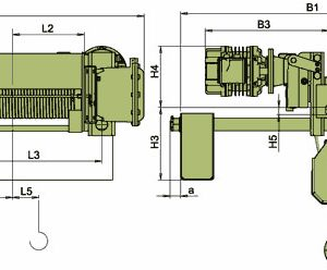 Таль электрическая канатная ЭЛМОТ VСVAT УСВ ВЗИ - миниатюра фото 3