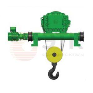 Таль электрическая канатная передвижная Балканское Эхо ВТ81/ВТ82 двухрельсовая ВЗИ - миниатюра фото 2